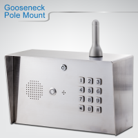 3G Digital GSM intercom(Gooseneck Pole Mount )