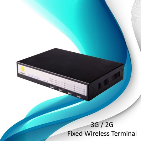 Terminale wireless fisso GSM - 4 porte