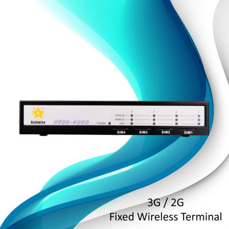 3G-Fixed Wireless Terminal- 4 SIM cards