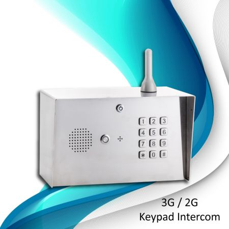 3G Digital GSM Gooseneck intercom