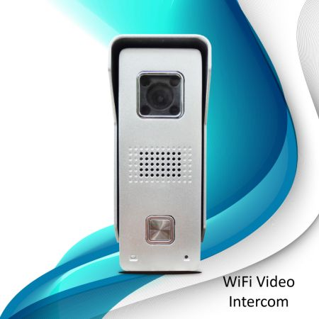 WiFi Security Video Doorbell (Argento)
