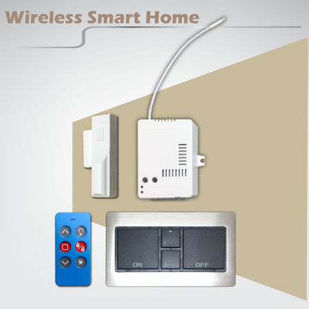Interruttore touch dimmer wireless