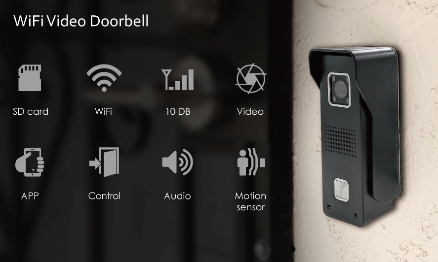 WiFi video doorbell will make sure you never miss another visitor